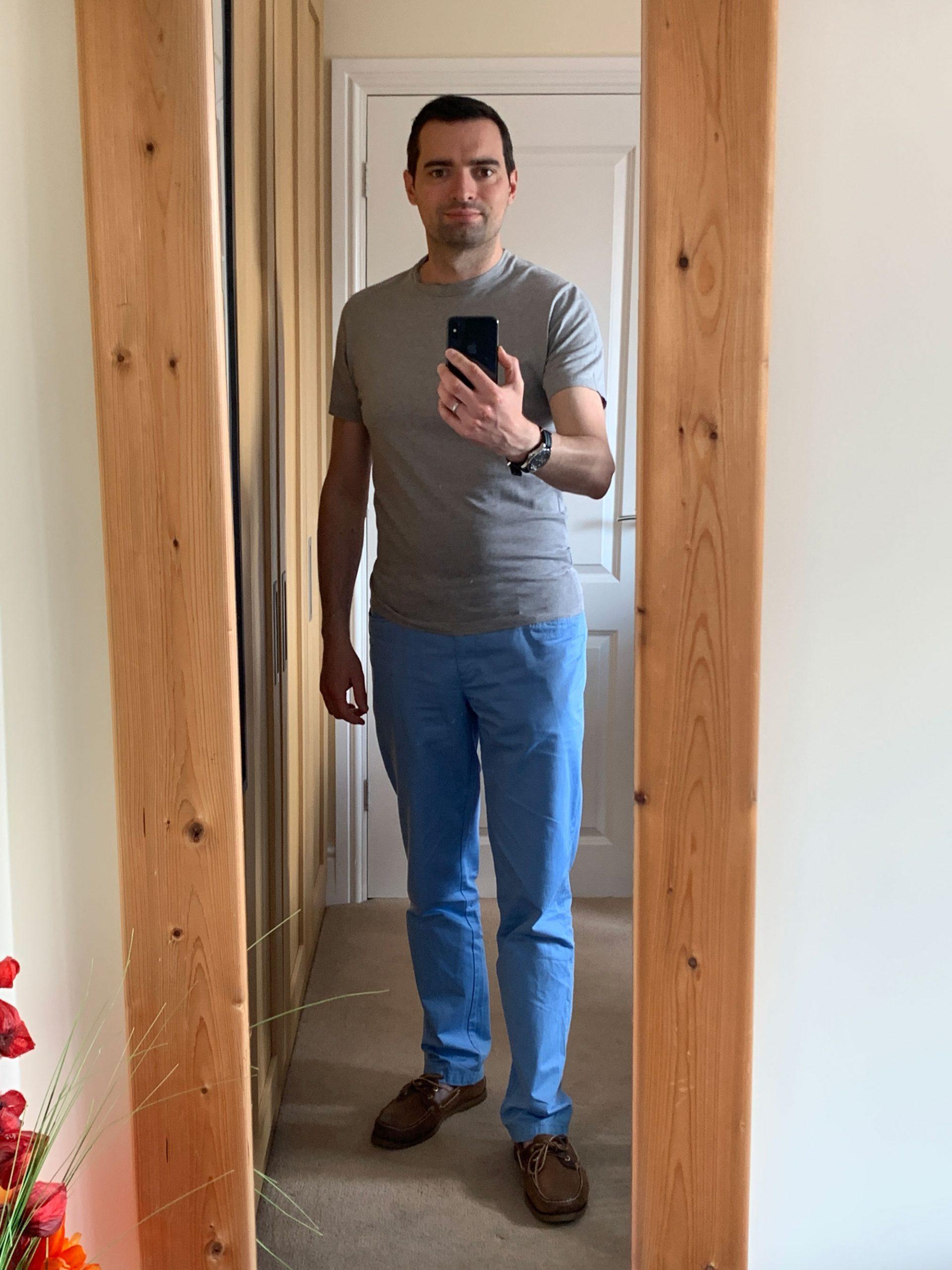 Daniel selfie wearing tee