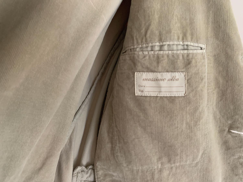 Massimo Alba label inside pocket