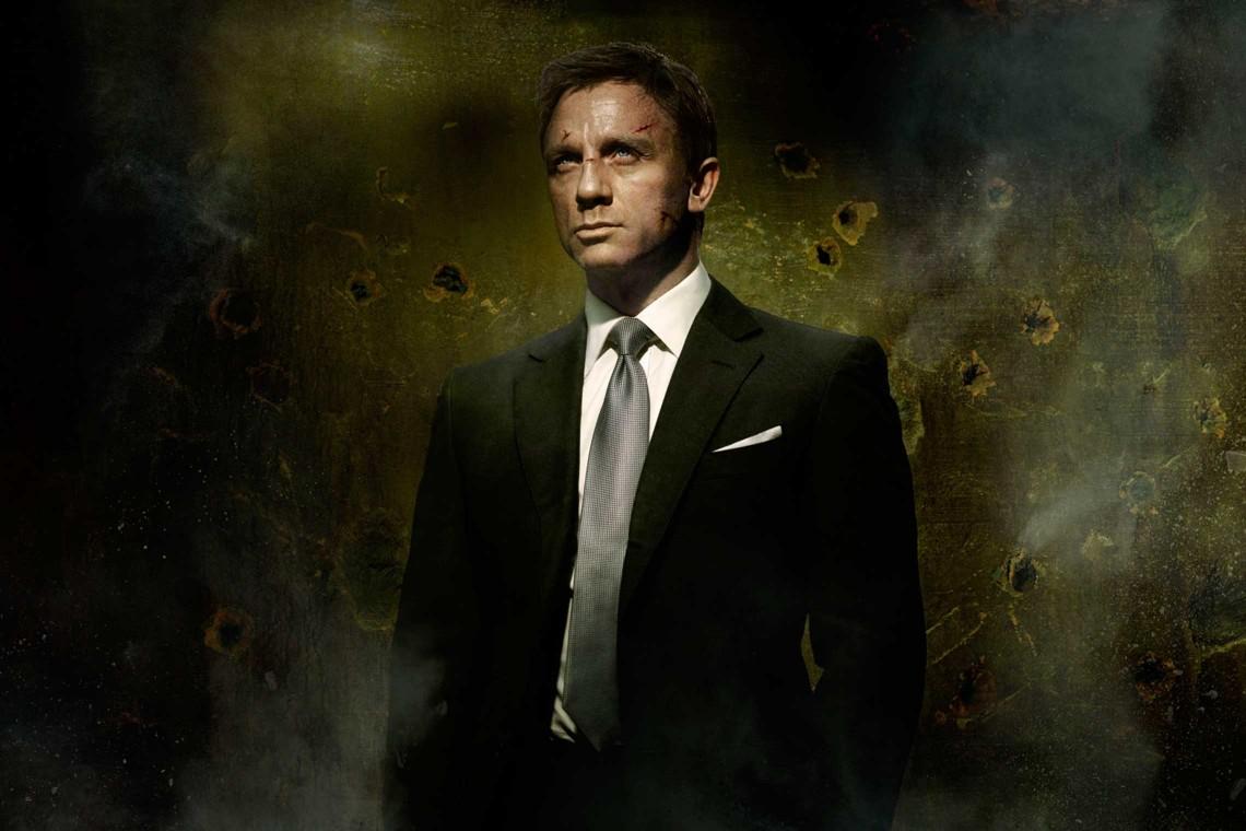 Daniel Craig wearing Chris Kerr