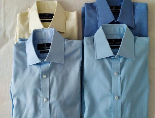 4x James Bond Bespoke Shirts from Turnbull & Asser