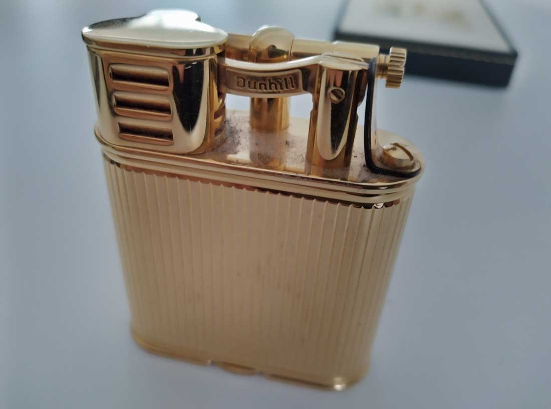 Dunhill lighter the world is not enough