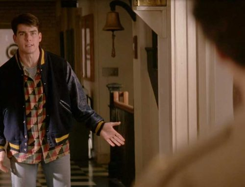 A Few Good Men – Tom Cruise's Distressed Varsity Jacket