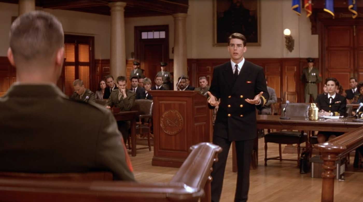 A Few Good Men Tom Cruise Military Uniform