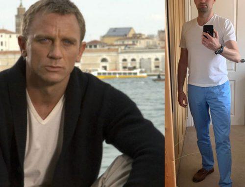 Casino Royale – James Bond's Sunspel Travel T-Shirts