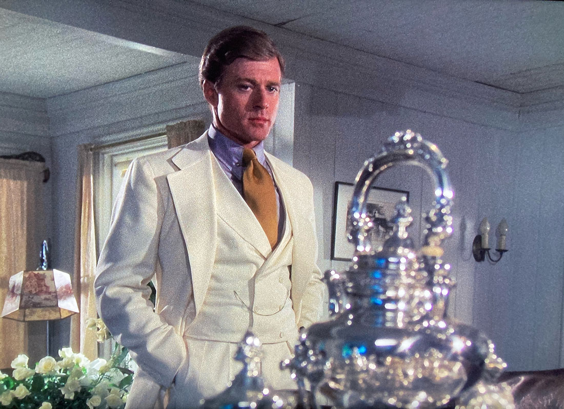 The Great Gatsby white suit