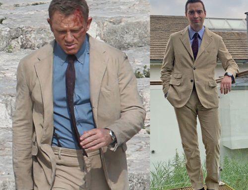 No Time To Die – Bond's Burgundy Tie by Alexander Olch | Review