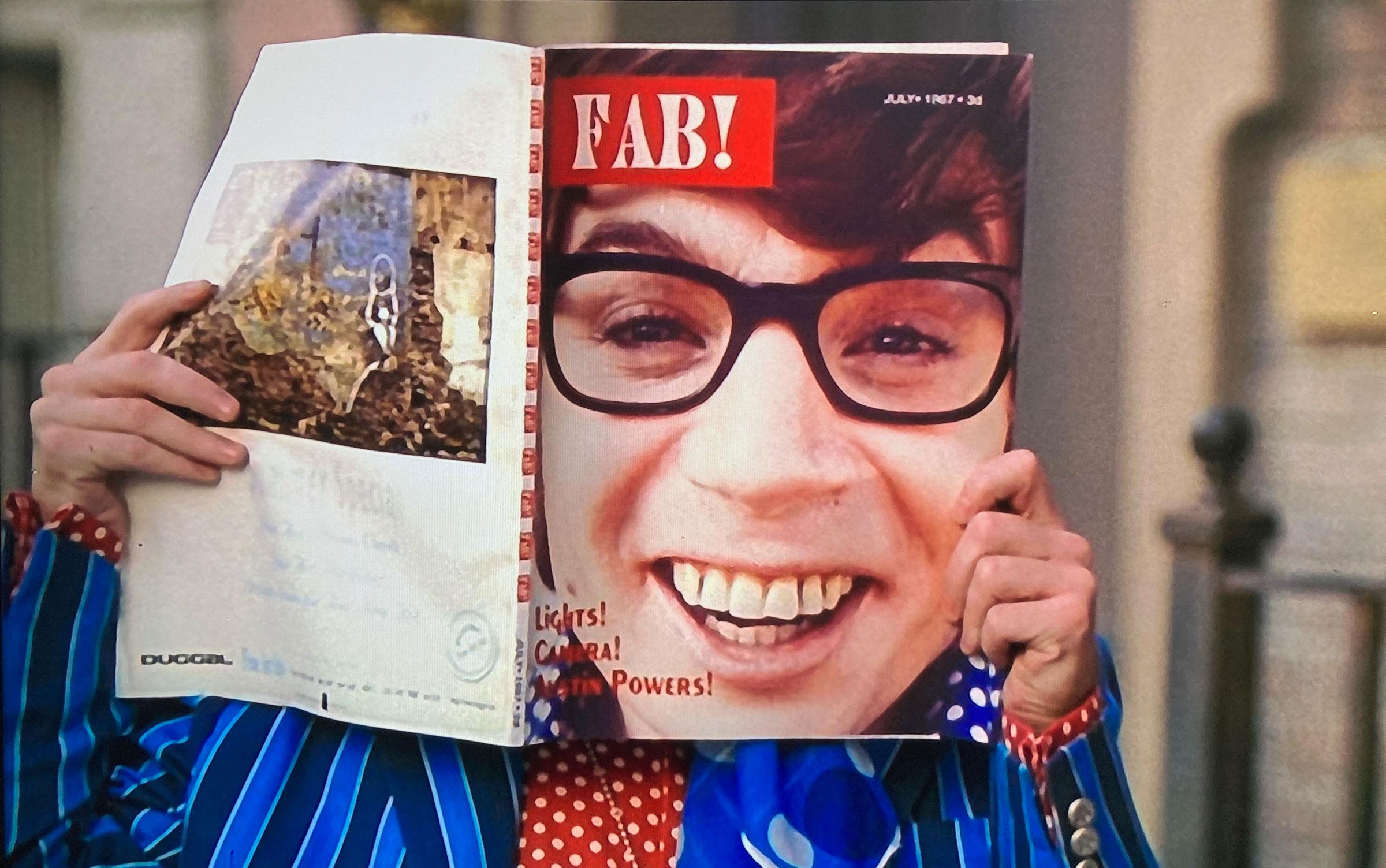 Austin Powers magazine