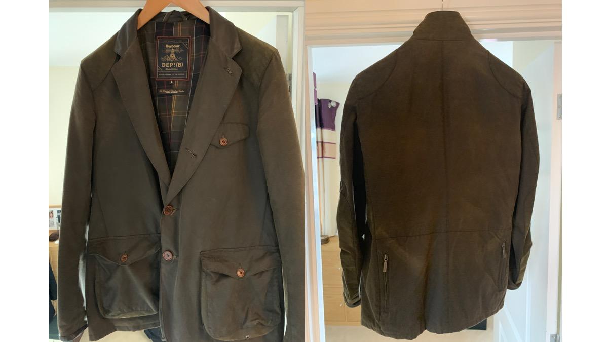 Barbour coat in Skyfall