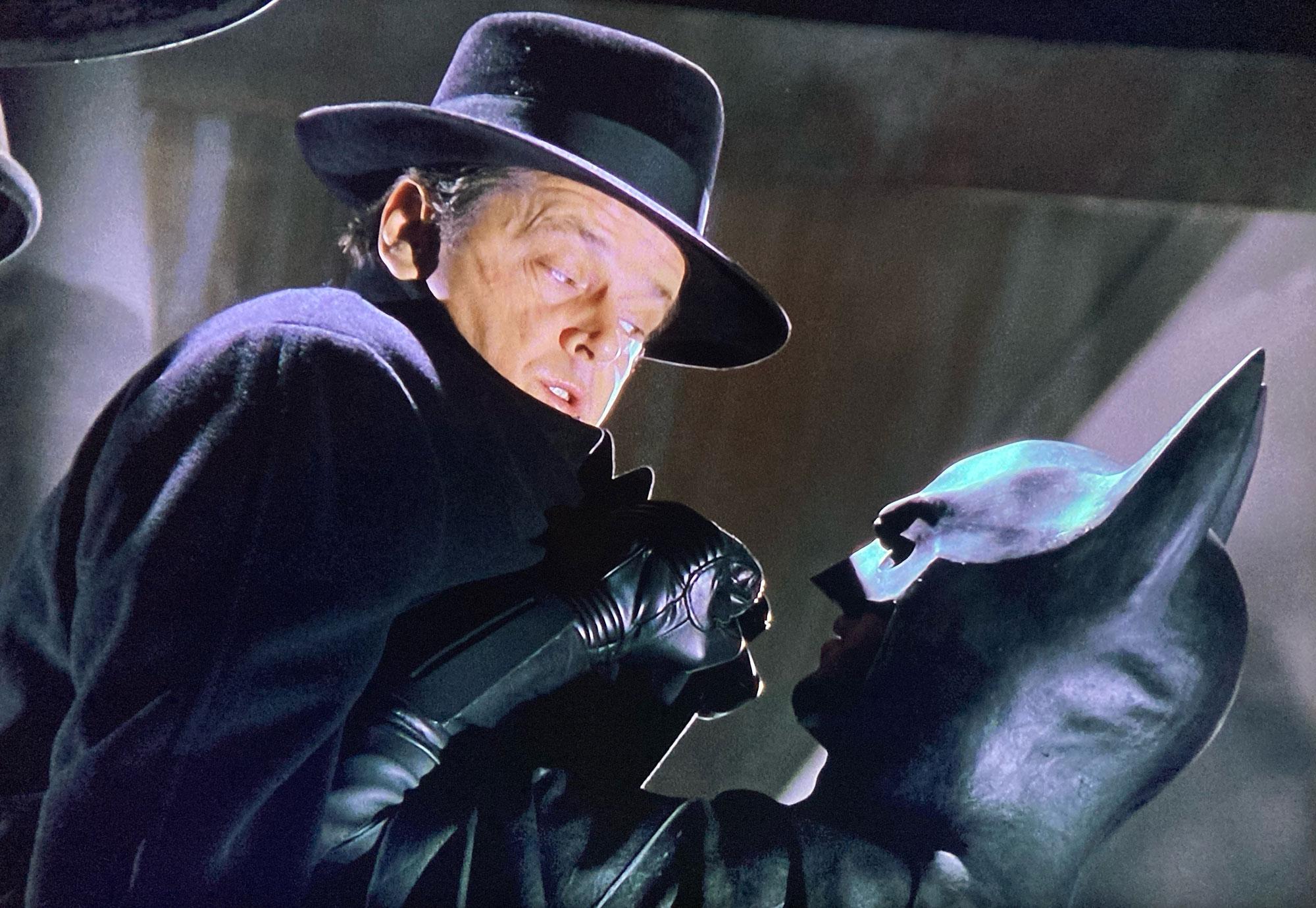 Batman Jack Napier Overcoat cut by Terry Haste JESUS