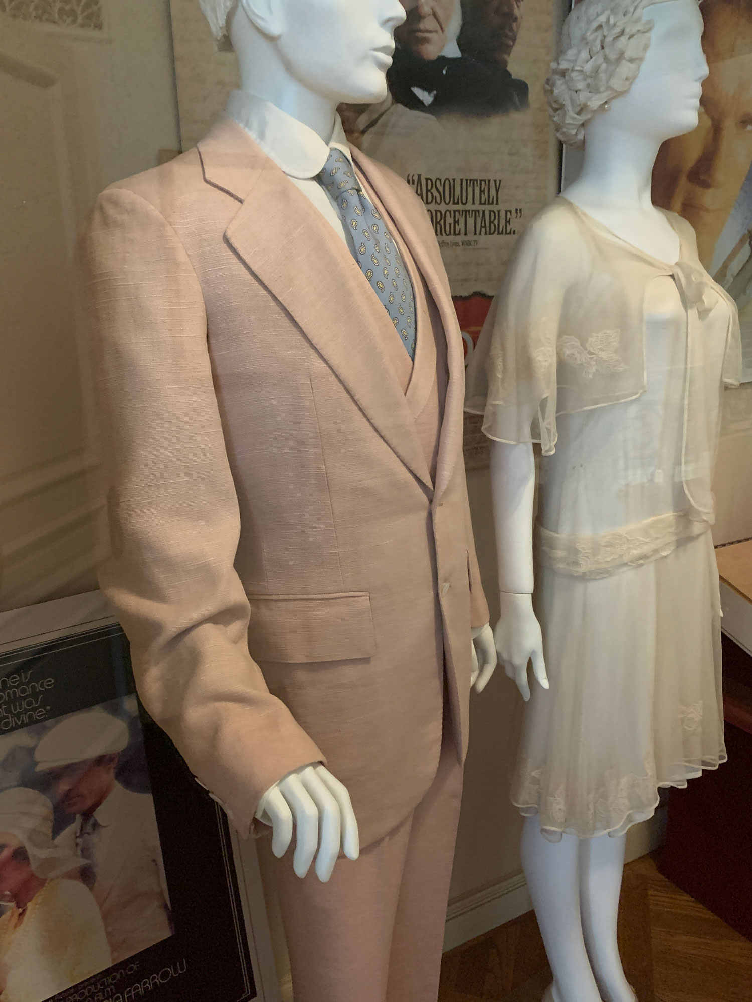 Great Gatsby Pink Suit