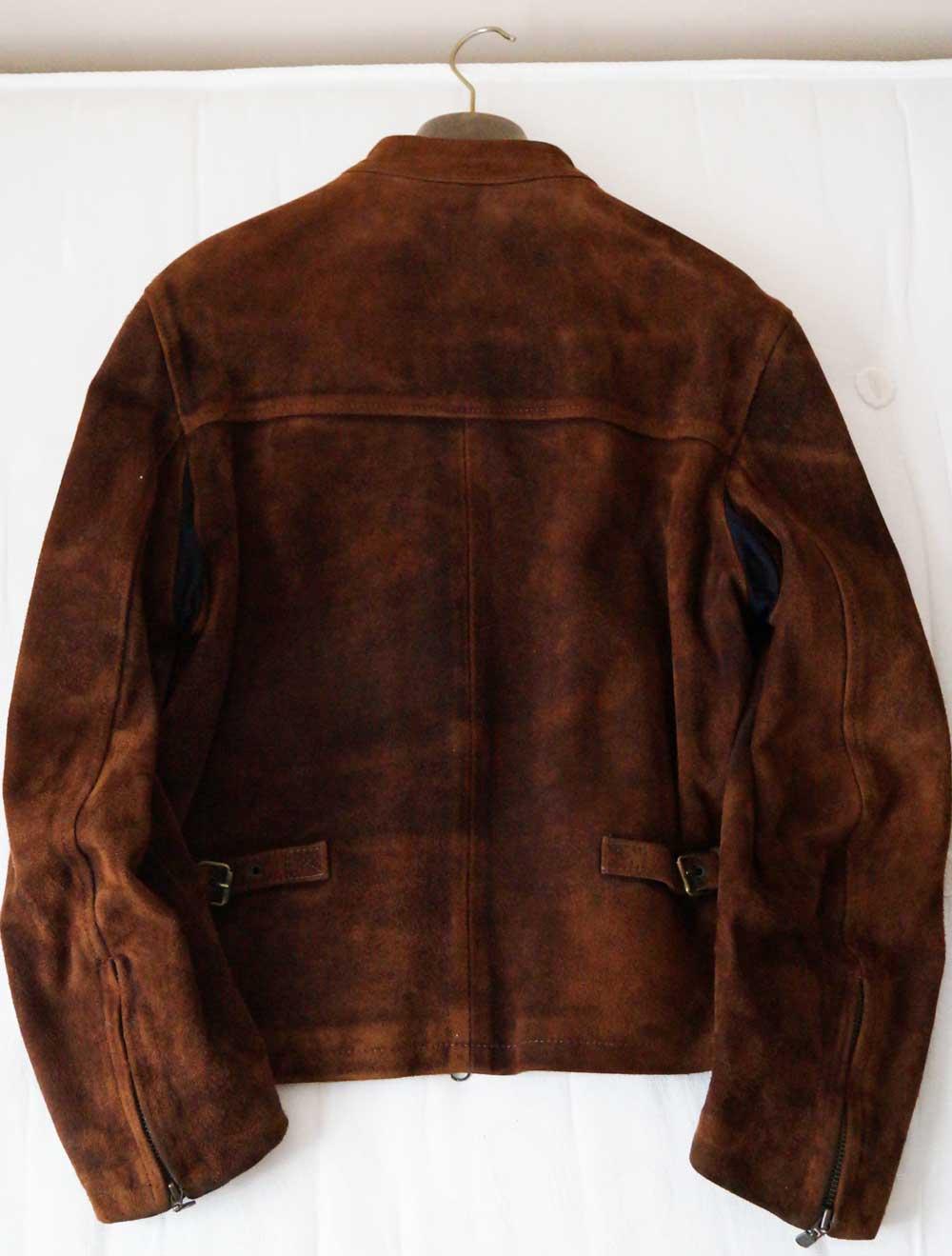 bekstaff jacket suede