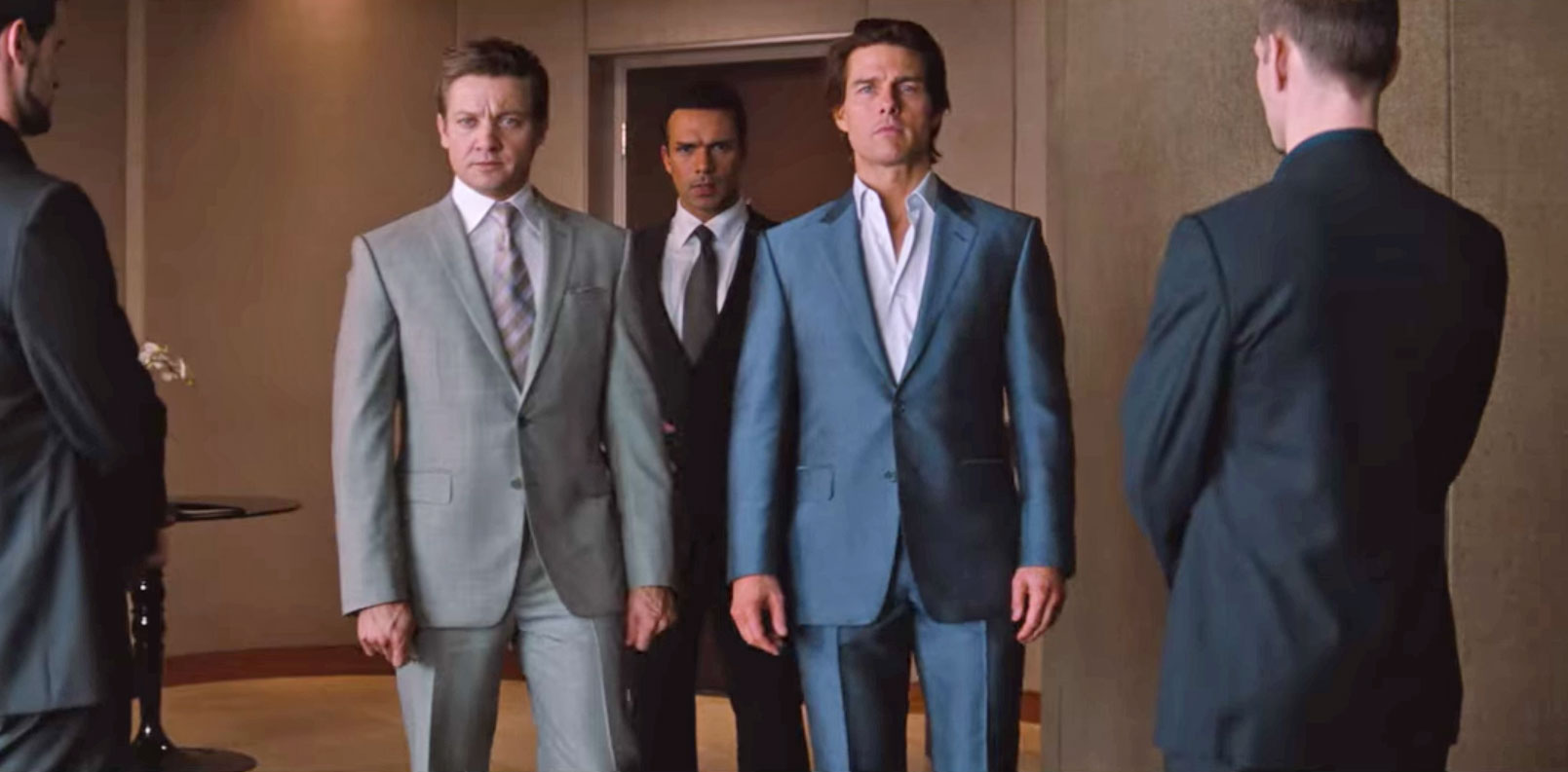 Mission Impossible: Ghost Protocol blue suit