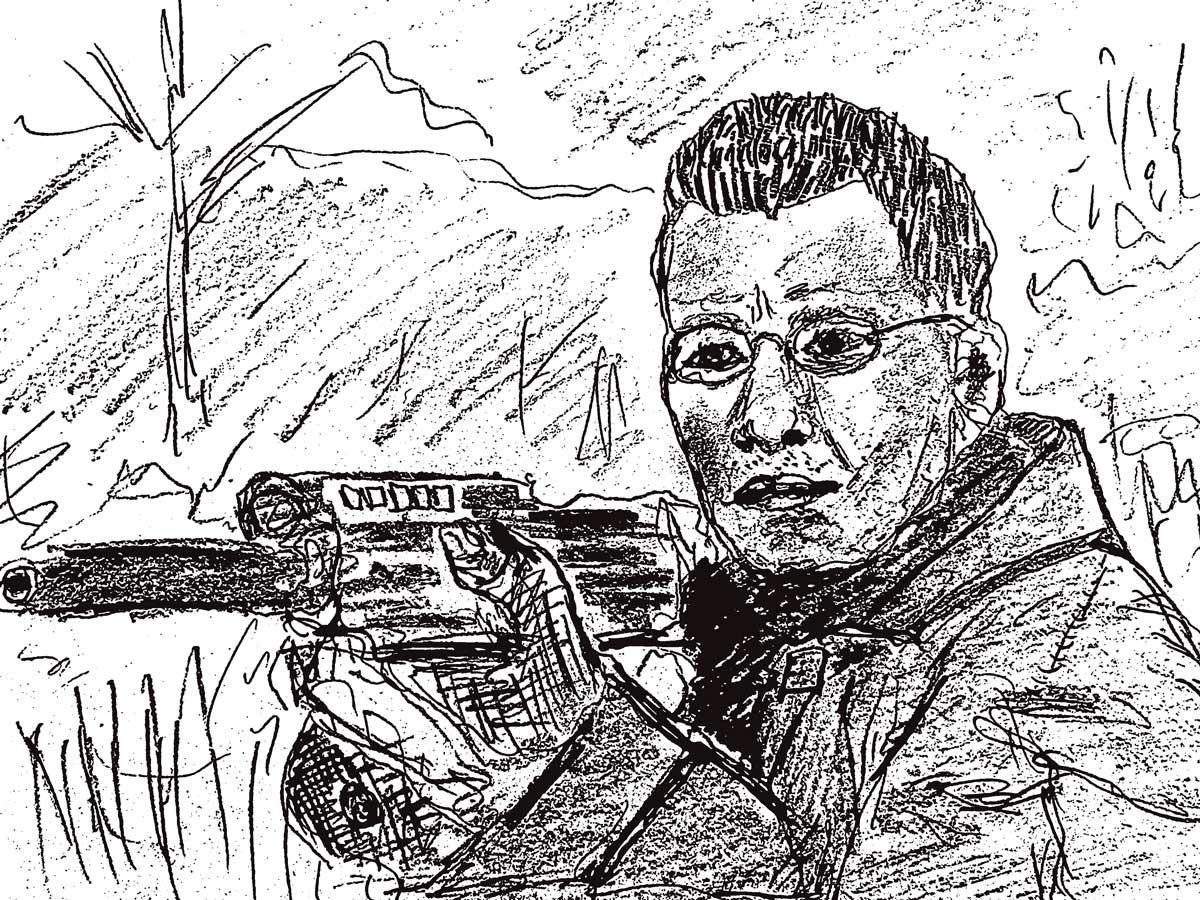 The Bourne Identity fan art clive owen