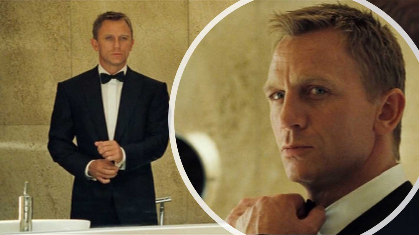 Turnbull & Asser Bow Tie Daniel Craig