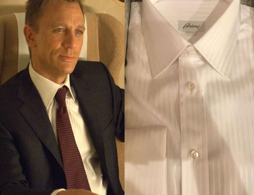 """The Casino Royale """"Train"""" Shirt, and the Secrets of a Brioni Shirt"""