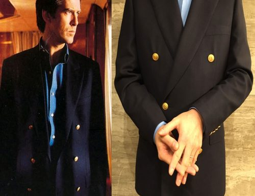 Getting that Brosnan GoldenEye Look | #04 Recreating the Last Bond Blazer with Brioni – Part 2. The Result and Details