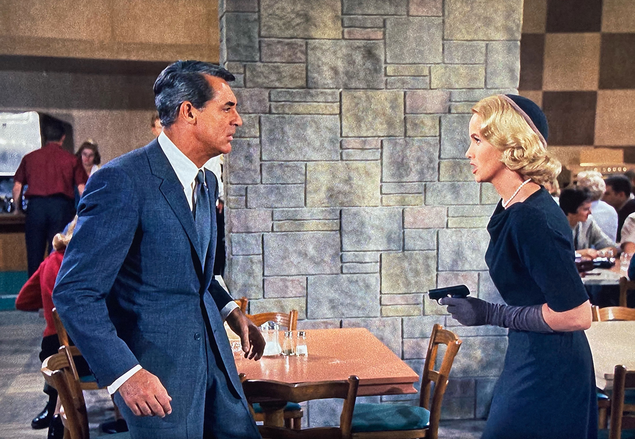 North by Northwest Cary Grant and Eva Marie Saint