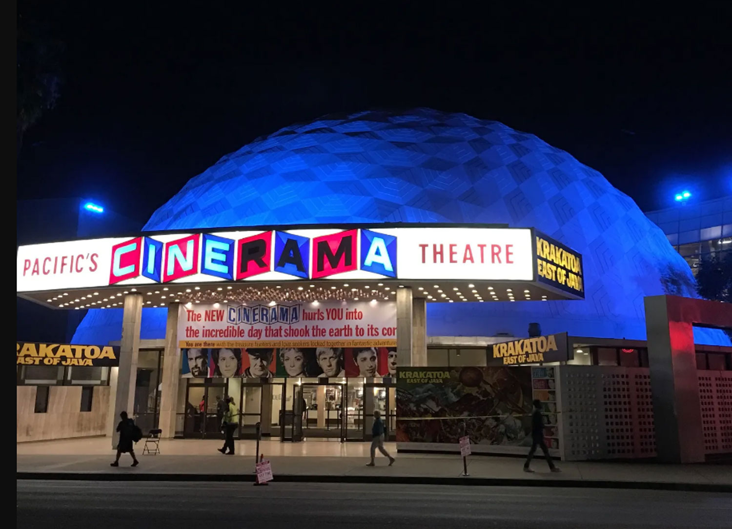Once Upon a Time in Hollywood Cinerama Dome