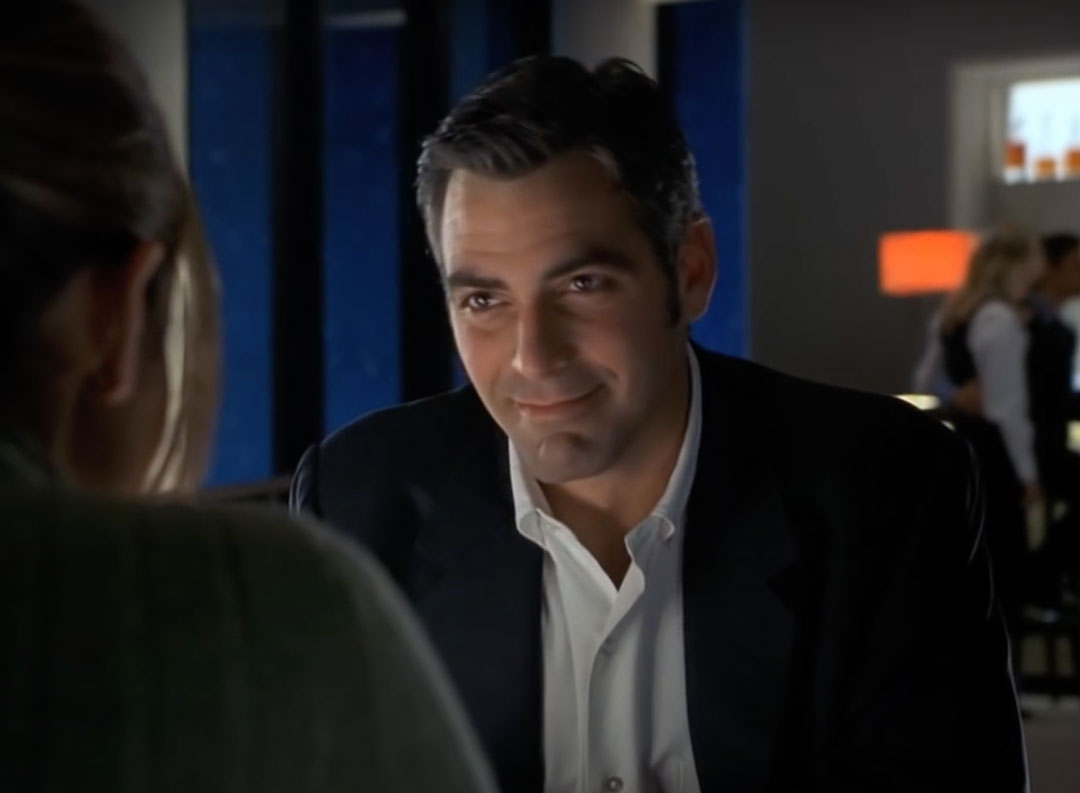 george clooney suit scene Out of Sight