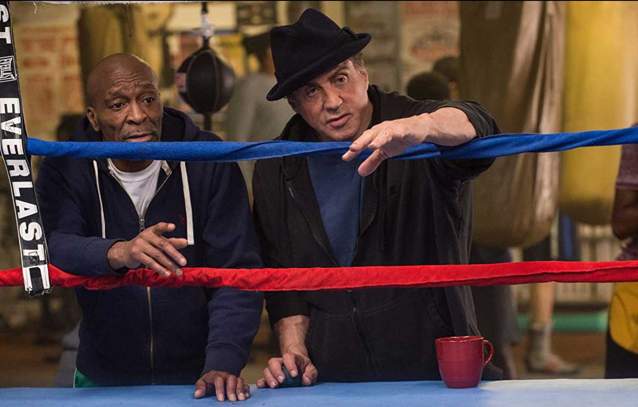 Creed sly stallone training