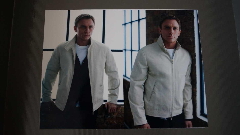 Harrington Jacket Daniel craig promo photo