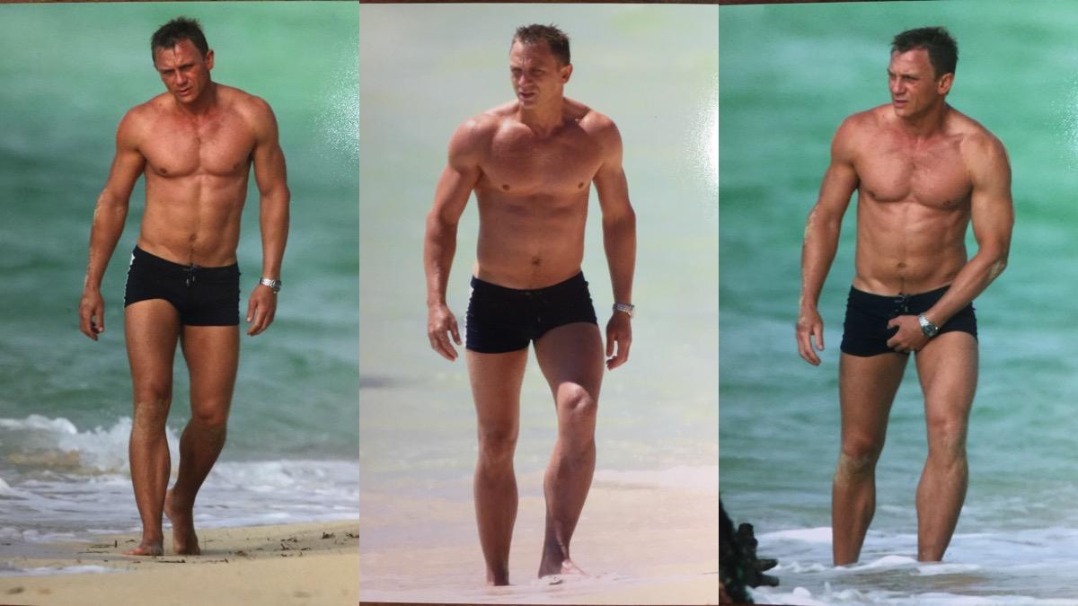 Saucy Daniel Craig