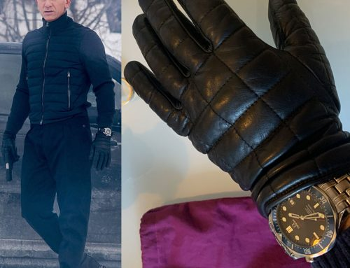Spectre – Bond's Agnelle James Gloves for a Meeting with The Pale King