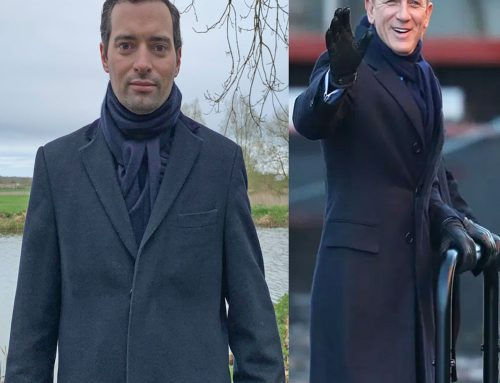 Spectre – Bond's Marks & Spencer Autograph Scarf for his Boat Ride with Tanner