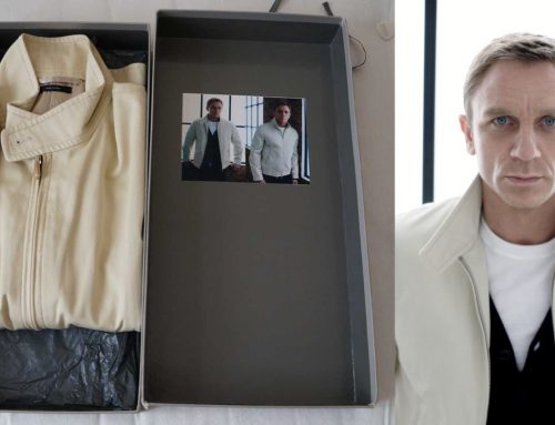 The Other Tom Ford Harrington Jacket in Cream (for Daniel Craig)| Review