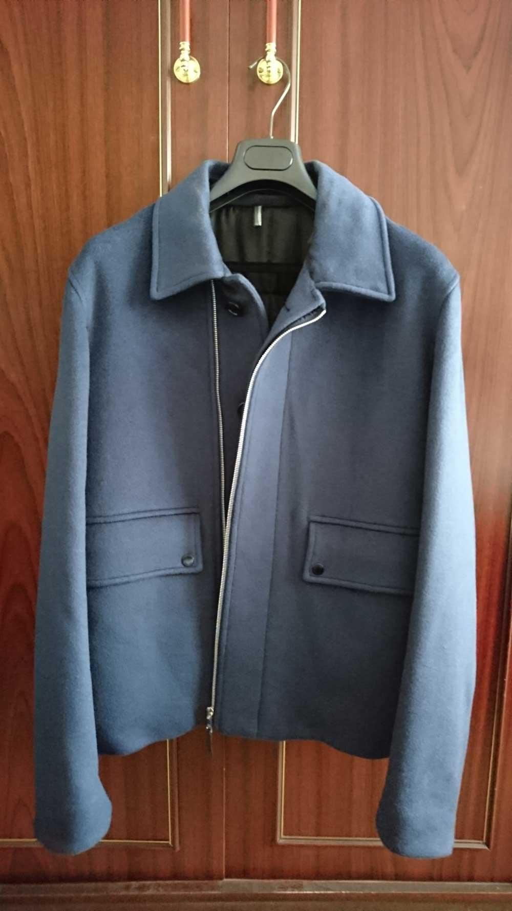 Dior Jacket blue cashmere