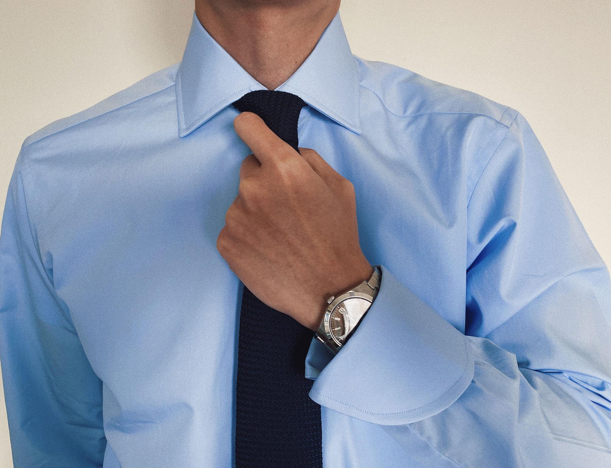Dr. No Cocktail Cuffs Turnbull & Asser shirt