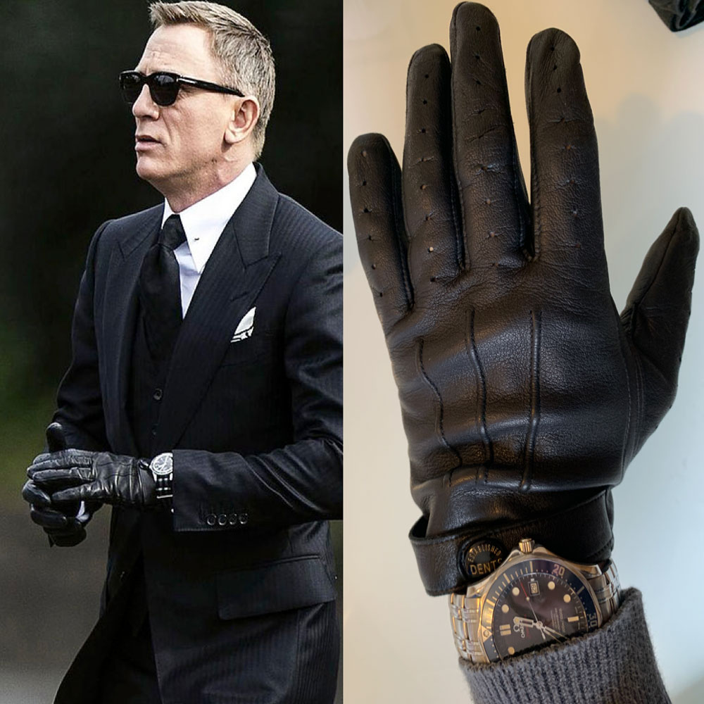 Dents Leather Driving Gloves Daniel Craig