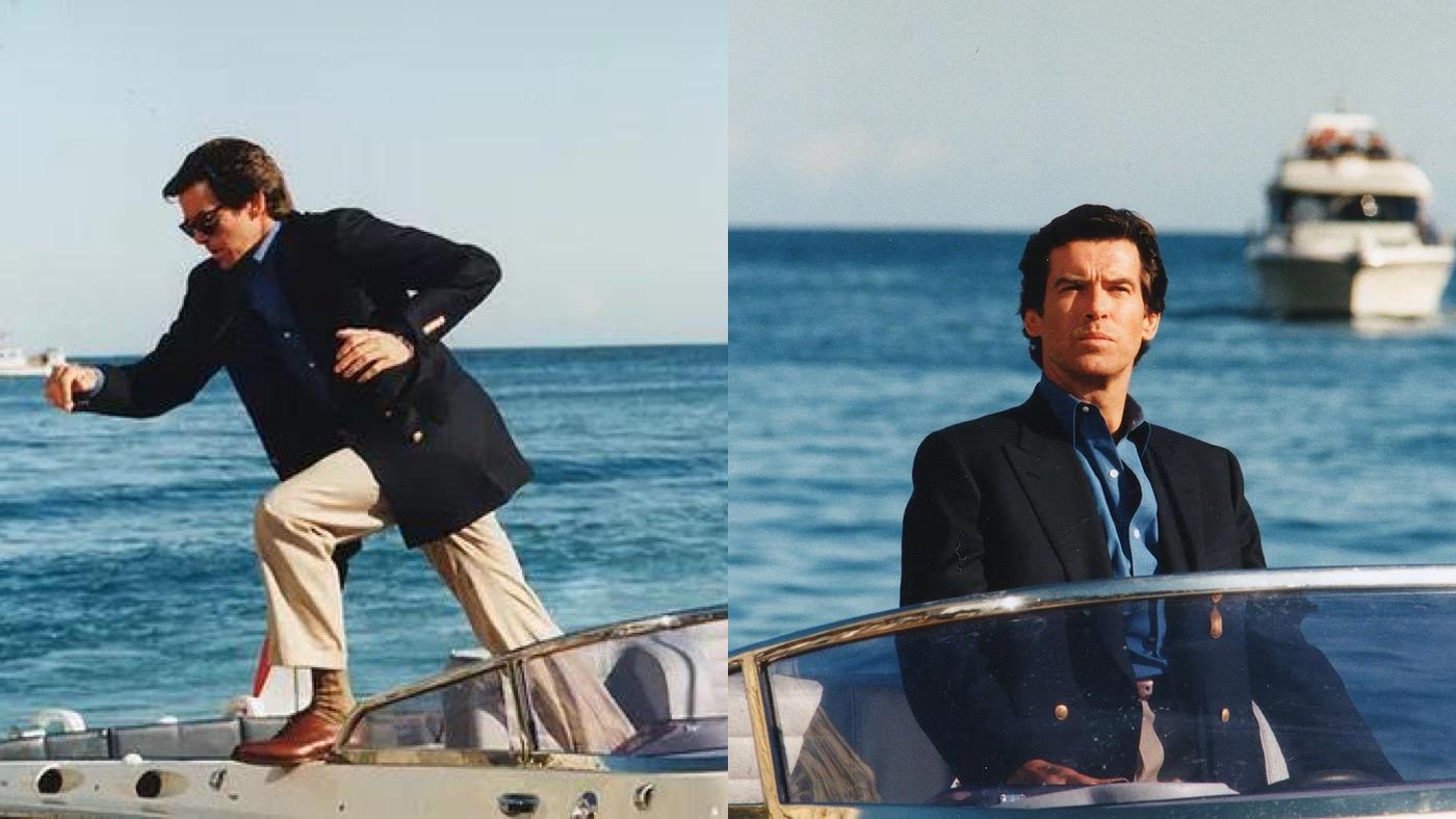 James Bond Blazer Brosnan GoldenEye