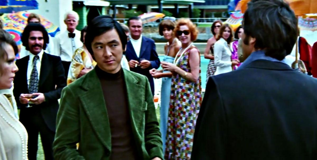 The Man from Hong Kong Green Corduroy