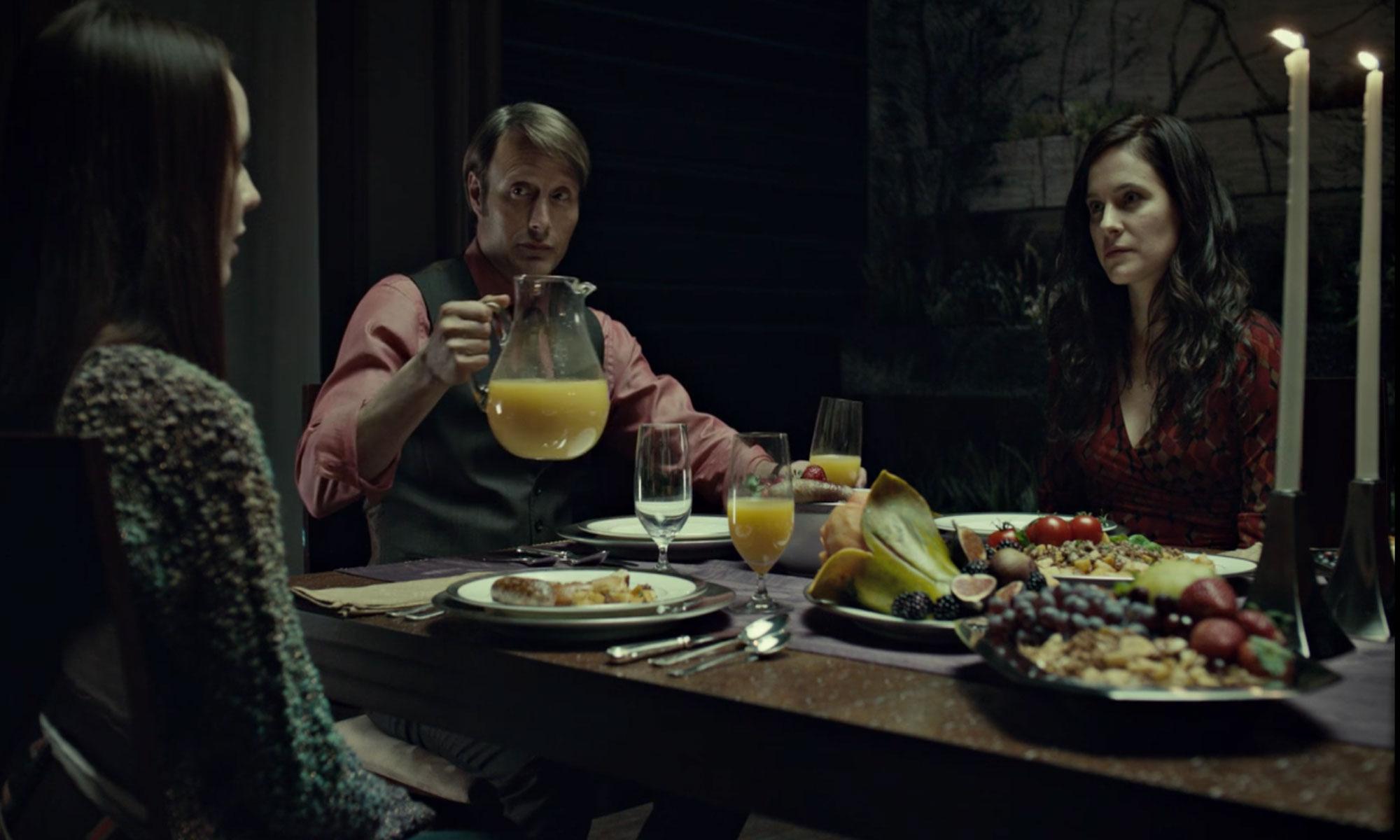 Hannibal breakfast table