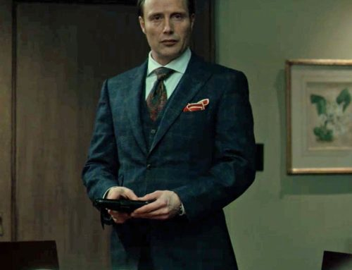 Hannibal's Hybrid Pocket Square Folds and THAT Red Twill Cloth with White Lining | #11