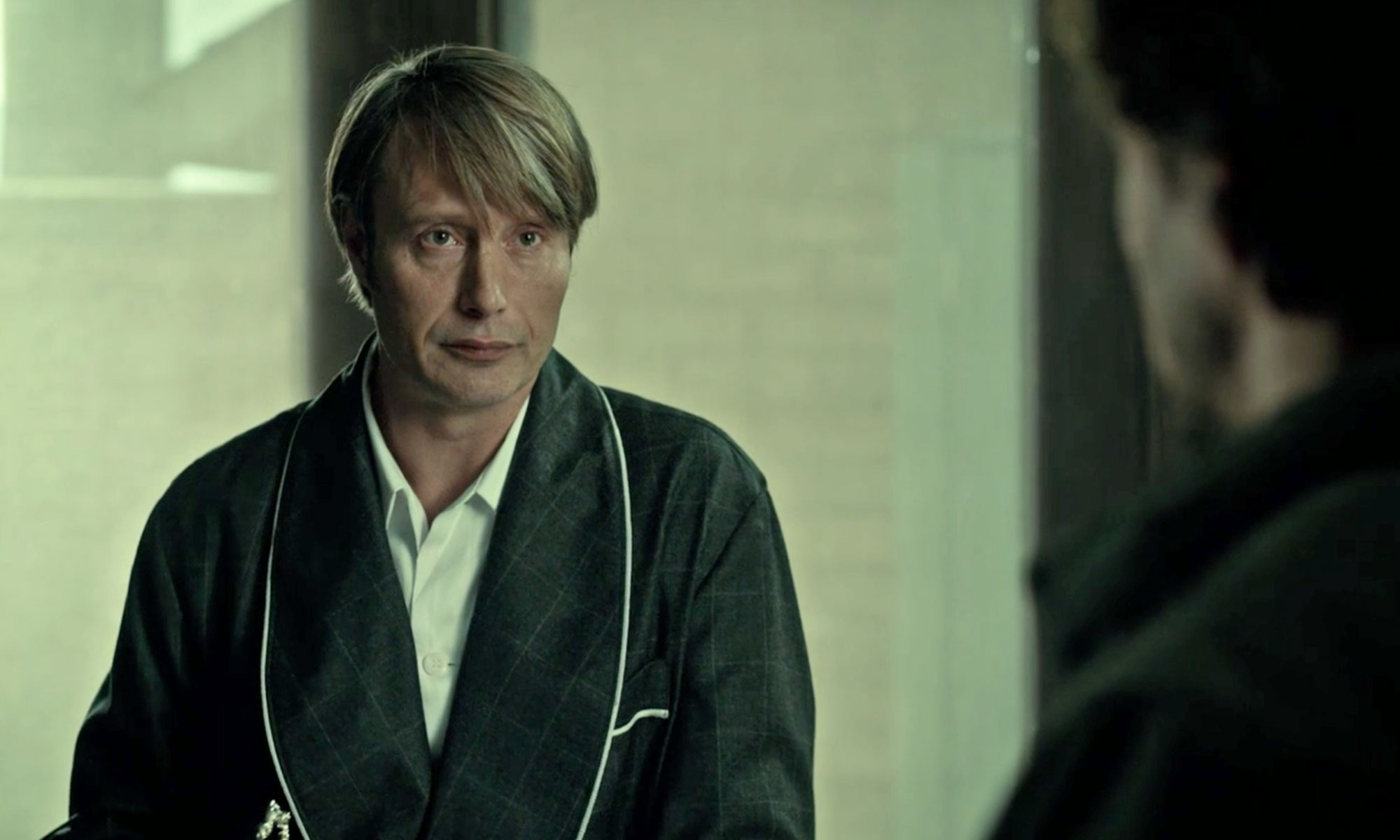 Shawl Dressing Gown from Hannibal