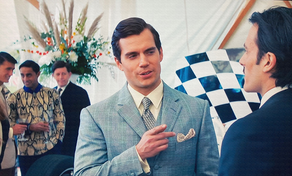 The Man From Uncle henry cavill timothy everest suit