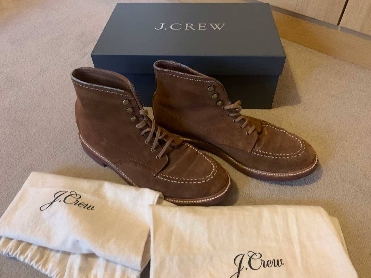 J. Crew Suede Pacer Boots