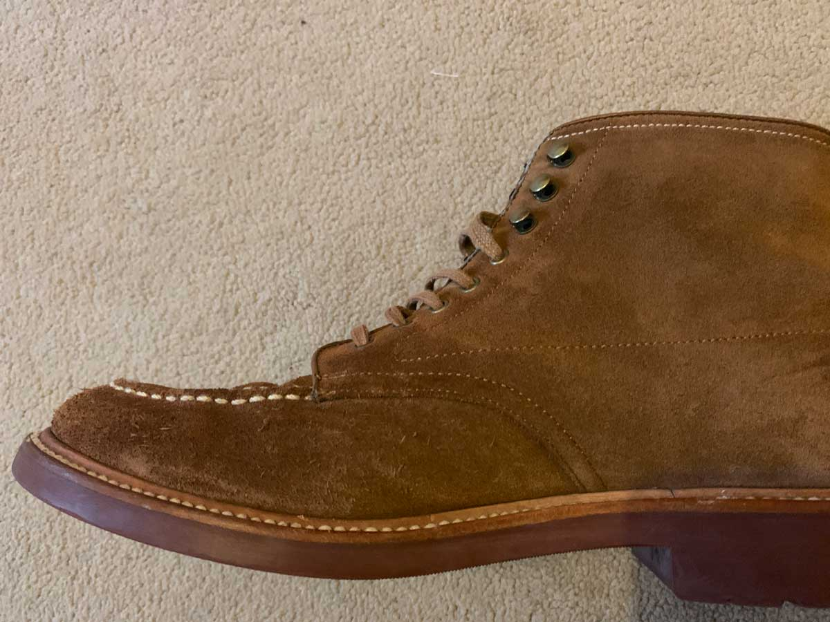 Suede Pacer Boots