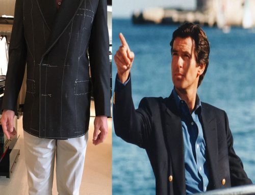 Recreating the Last James Bond Blazer with Brioni – Fabrics and Buttons   #04