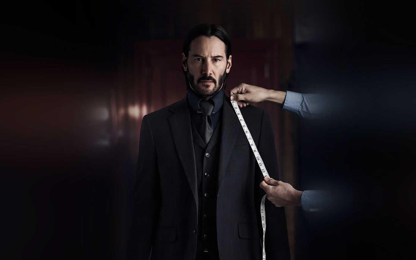 Jon wick suit tailoring