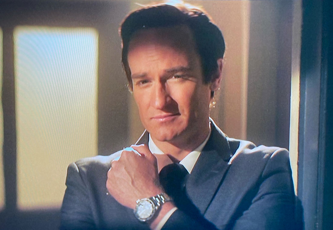 Becoming Bond josh lawson watch scene