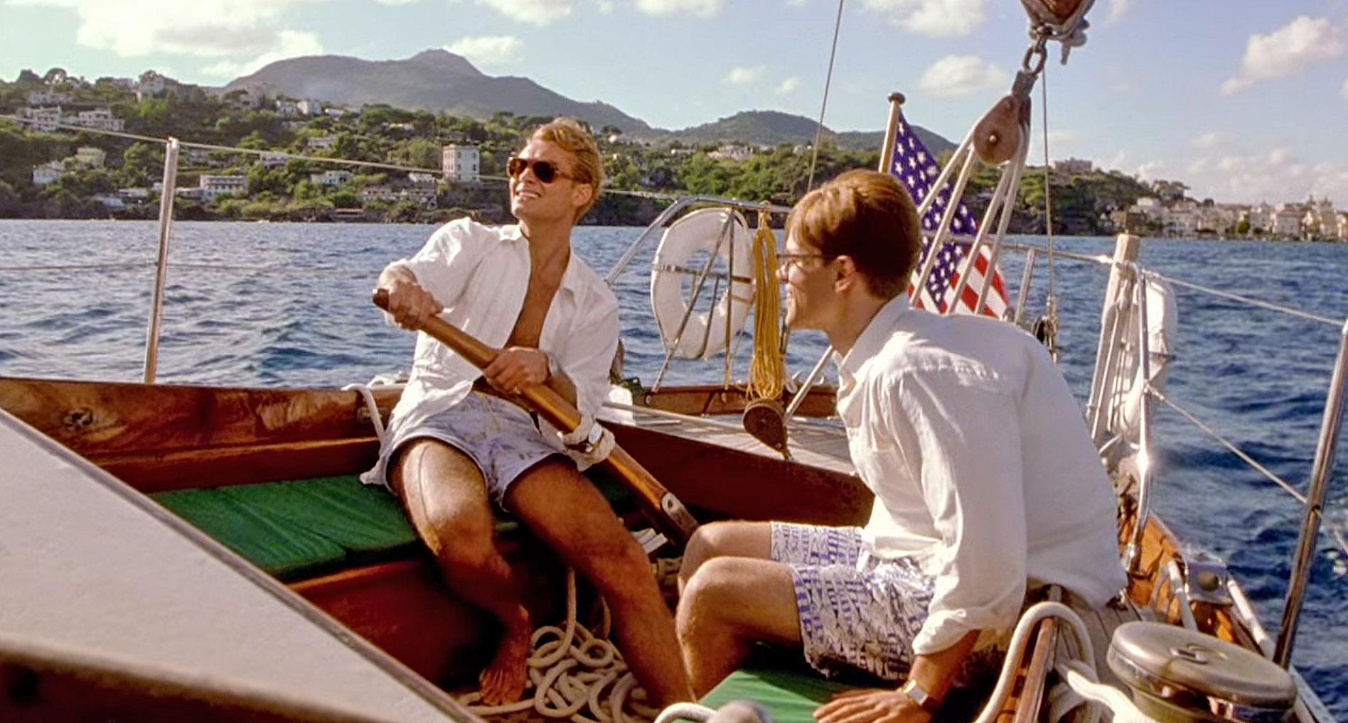The Talented Mr Ripley boat scene