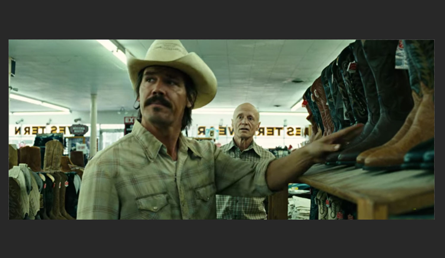 No Country For Old Men Larry Mahan scene