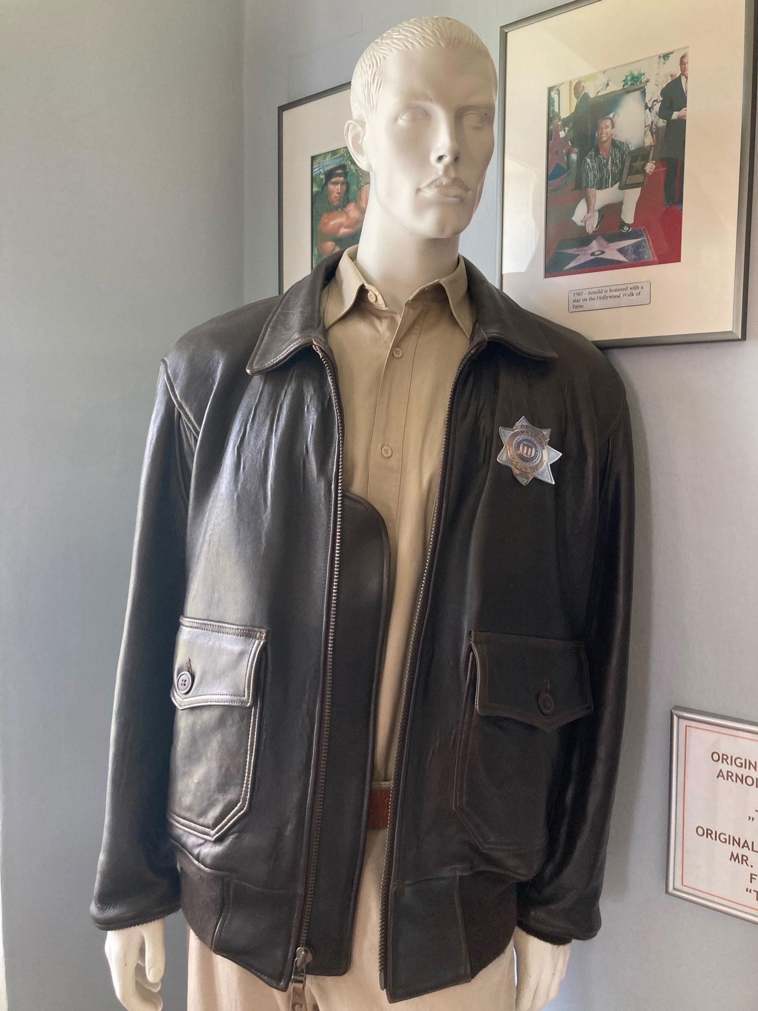 Arnold Schwarzenegger Museum The Last Stand Jacket