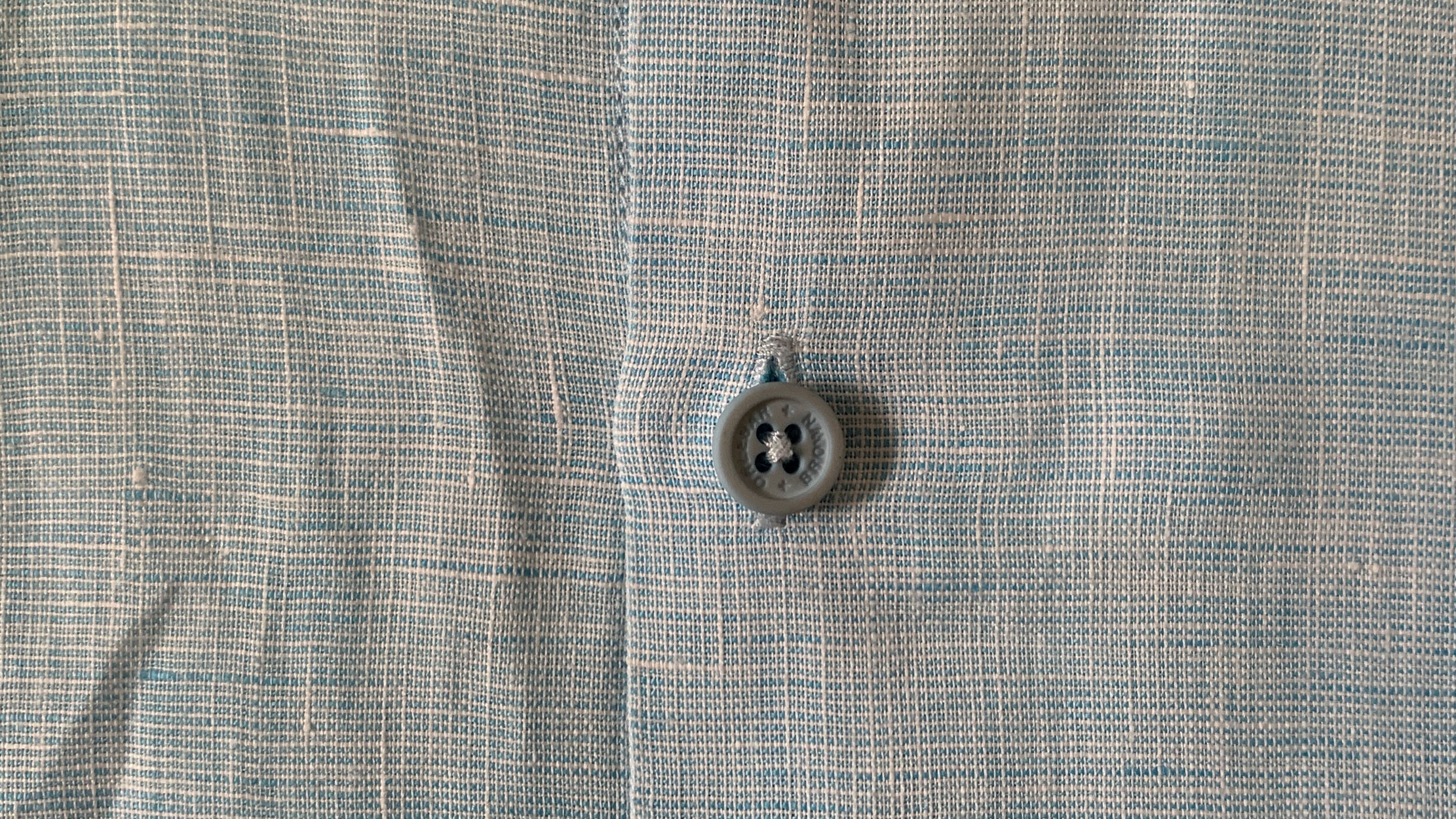Linen Shirt close up