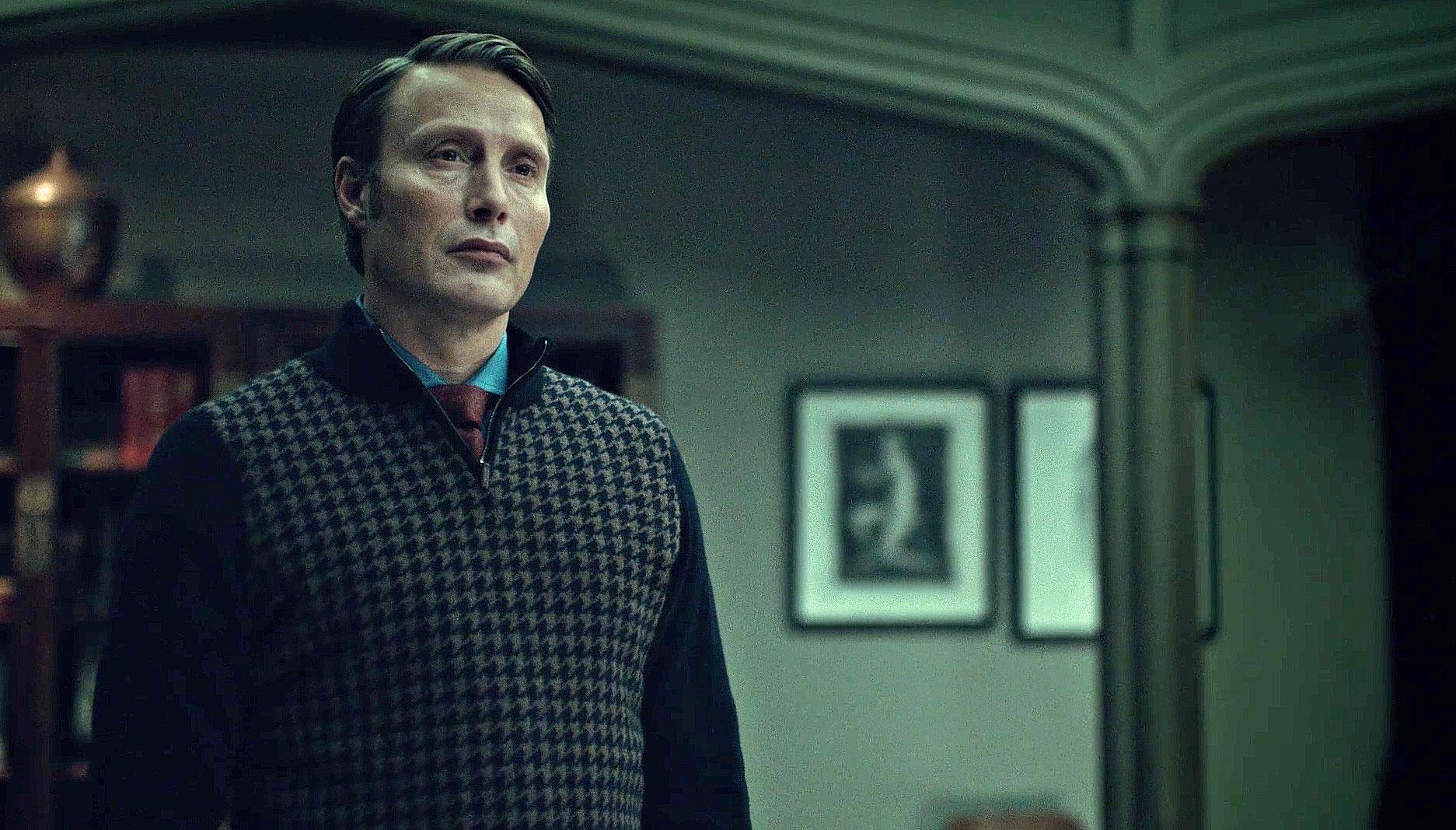 Hannibal Houndstooth Woollen Sweater
