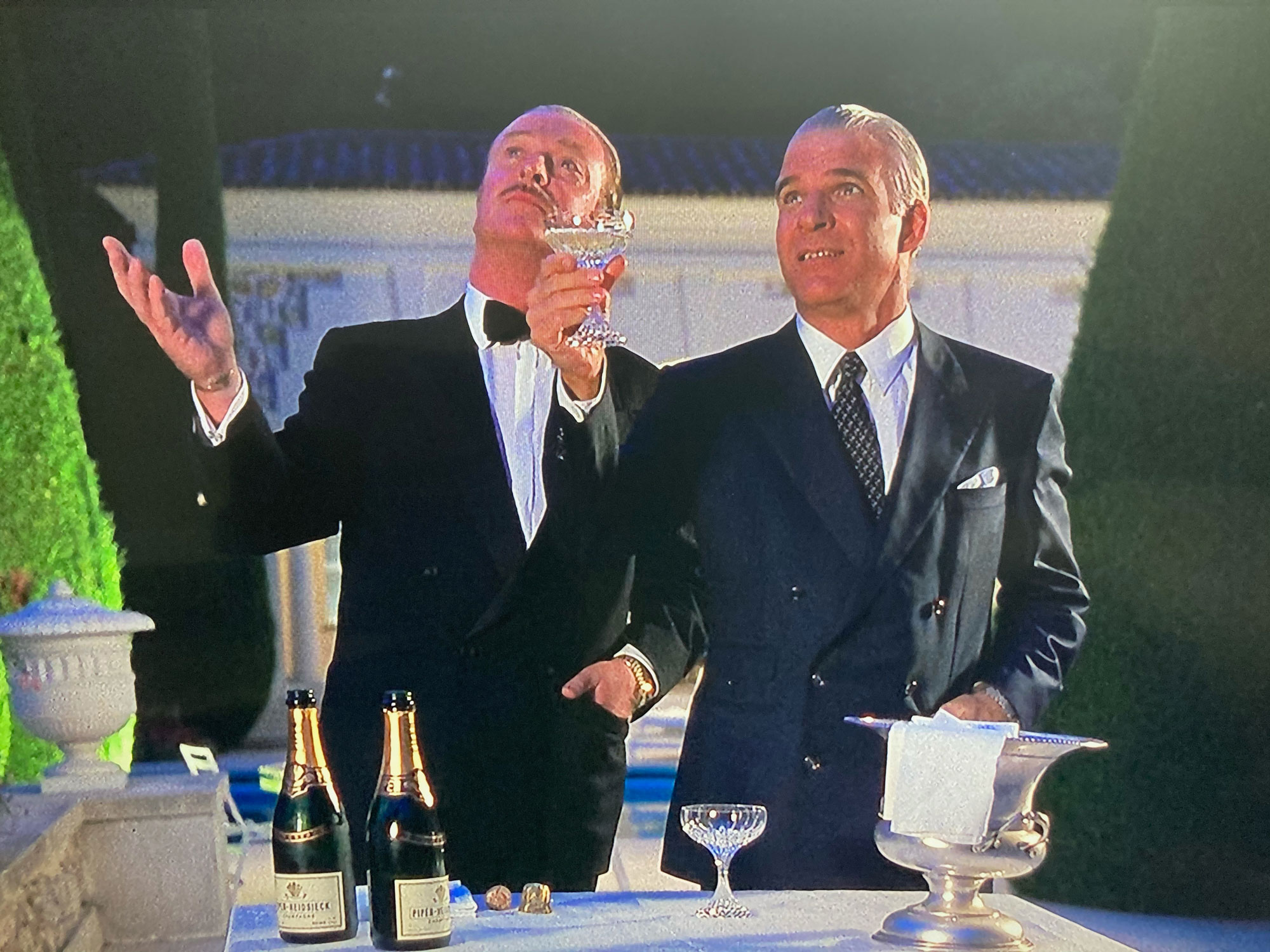 Dirty Rotten Scoundrels Steve Martin Michael Caine
