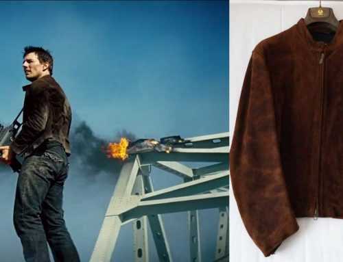 Mission Impossible 3 – Hunt's Brown Deer Suede 'Ethan' Belstaff Jacket